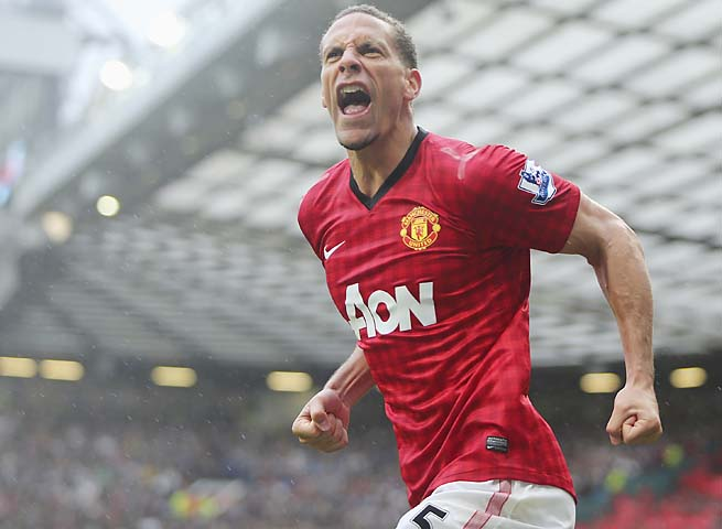 Rio Ferdinand's Manchester United won the Premier League title in a runaway.