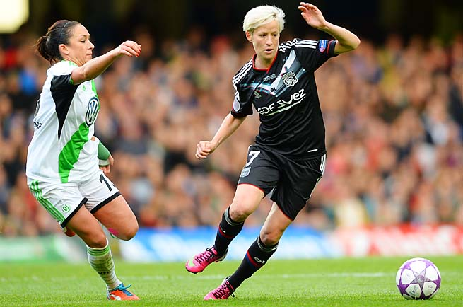 Megan Rapinoe is set to join the Seattle Reign of the National Women's Soccer League.