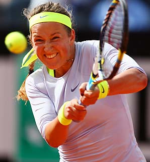 Victoria Azarenka has never made it past the quarterfinals of the French Open.
