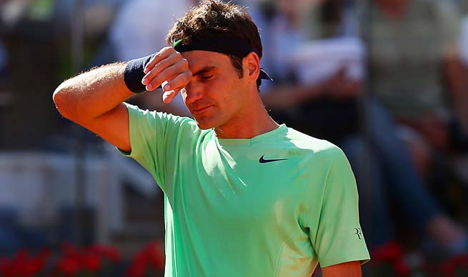 Roger Federer enters the French Open as the No. 2 seed behind Novak Djokovic.