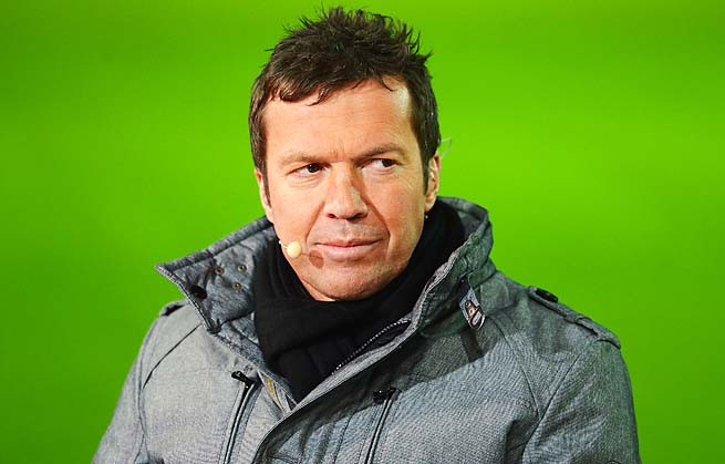 Lothar Matthaus made more than 300 appearances over stints with Bayern Munich.