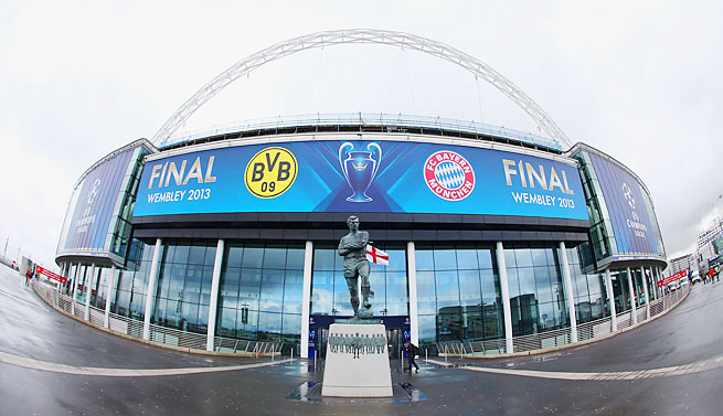 Wembley will host the first all-German Champions League final.