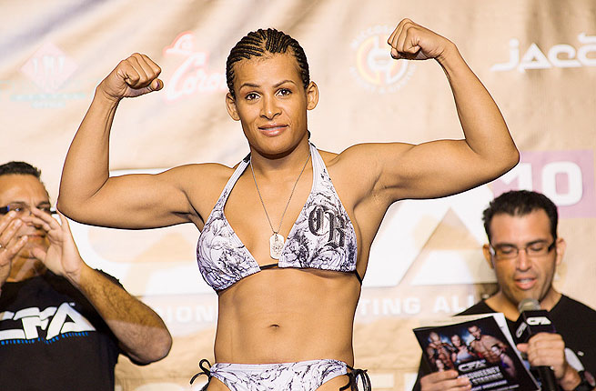 Friday's match was Fallon Fox's first bout since coming out as the sport's first transgender athlete.