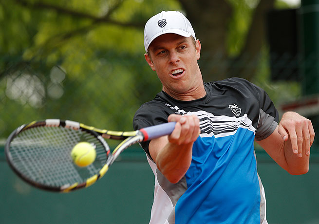 Sam Querrey, the highest ranked American at Roland Garros, defeated Lukas Lacko to reach the second round.