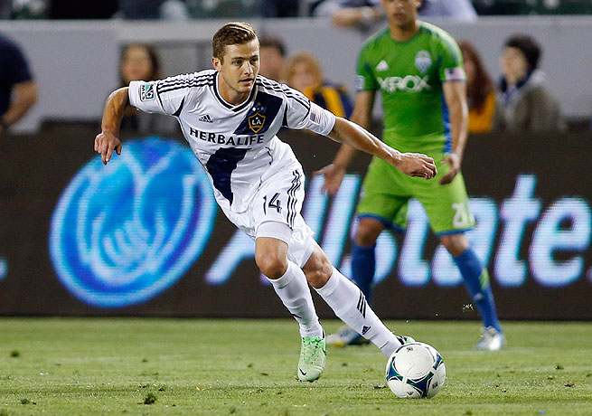Robbie Rogers became the first openly gay player to feature in a MLS game when he was subbed in against Seattle.