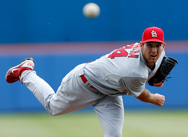 Michael Wacha could make St. Louis' pitching staff, already among the game's best, even better in the second half.