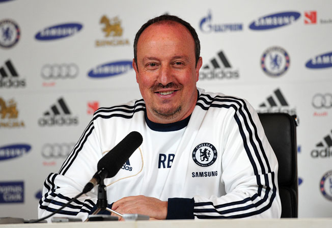 Rafa Benitez was announced as Napoli's new coach after wrapping up his interim stint at Chelsea.