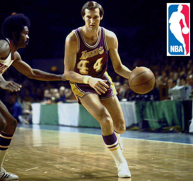 "On May 28, 2013, Jerry West, a model of brilliant basketball nicknamed ""The Logo"" for being the silhouette sandwiched between red and blue on the NBA's emblem, turned 75 years old. Also nicknamed ""Mr. Clutch"" for his knack for coming through when it mattered most, West led the Lakers to the NBA Finals nine times in his prolific 14-year career. He averaged 31.0 and 31.3 points in 1964-65 and '65-66, respectively, and tallied 25,192 points (the most in Lakers history) and 6,238 assists (second). West made a pretty good G.M., too, helping bring Kobe and Shaq to the Lakers."