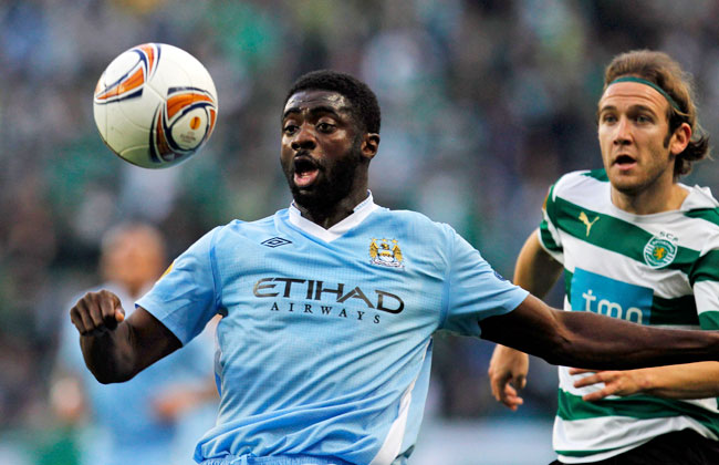 Kolo Toure had played at Manchester City since leaving Arsenal in 2009.