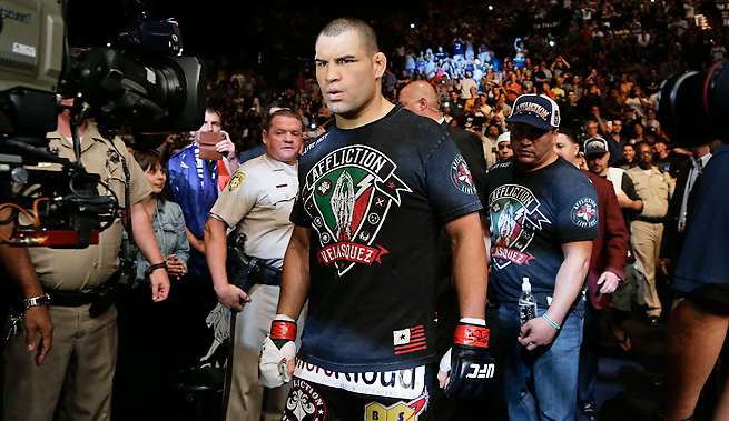 "Cain Velasquez made quick work of ""Bigfoot"" Silva this past weekend with a first-round win at UFC 160."