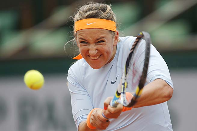 Australian Open champion Victoria Azarenka has fallen to No. 3 in the WTA rankings since Melbourne.