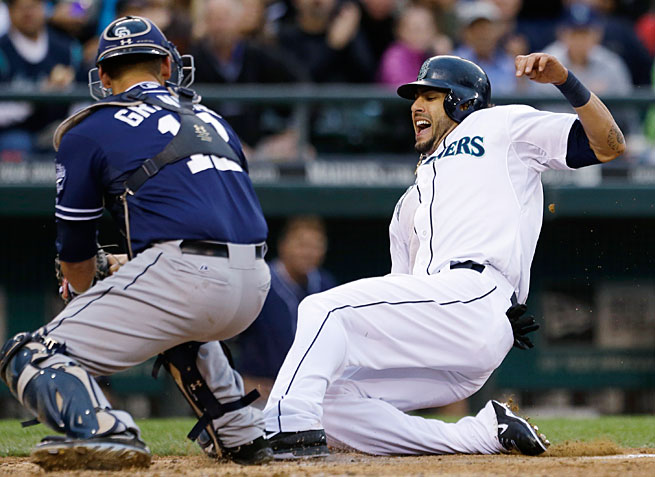 "The Padres and Mariners were paired up in an interleague ""rivalry"" that doesn't make a lot of sense."