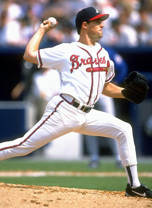 Maddux had made his debut five days earlier in the 18th inning of a suspended game. He gave up one run and took the loss in that one but went the distance against the Reds in his first start. It was the first of his 355 wins during an amazing career that also included four straight Cy Youngs from 1992-95.