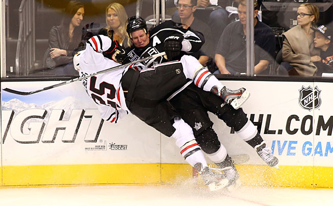 The Blackhawks-Kings Western Conference Finals series will likely resemble trench warfare.