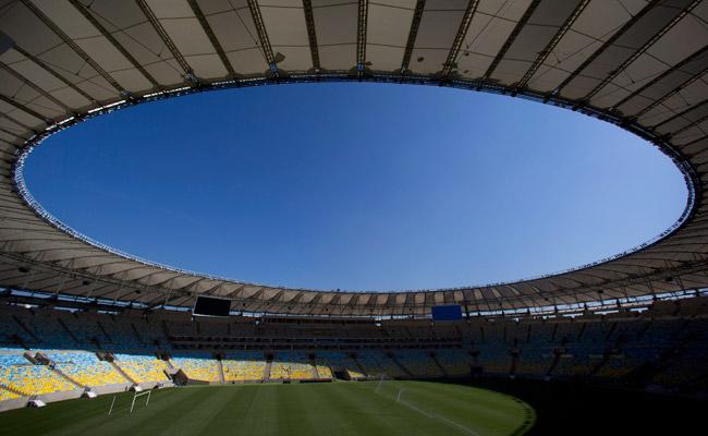 Rio de Janeiro's Maracana stadium had been undergoing renovations recently.