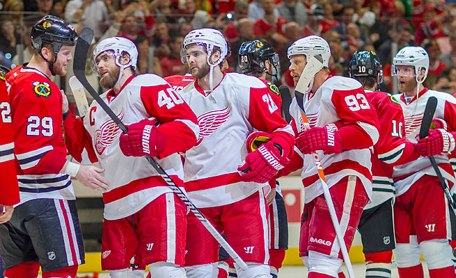 The Red Wings came within a goal of the Western Conference finals despite earning a No. 7 seed.