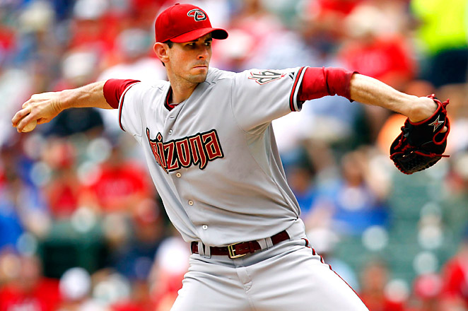 Brandon McCarthy had a good May, with a career-high 18-inning scoreless streak from May 7-24.