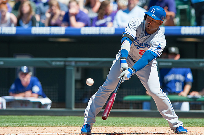 Carl Crawford is hitting .301 with five home runs and 13 RBIs in 51 games this season.