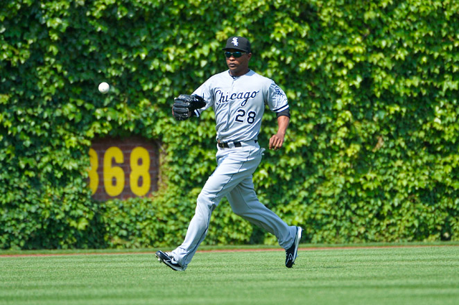 """Wise says his leg """"hasn't gotten any better,"""" and the Sox recalled OF Jordan Danks to fill his spot."""