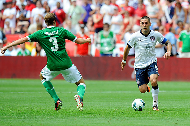 Clint Dempsey's two-goal game made him the second all-time leading scorer on the USA scoring chart.