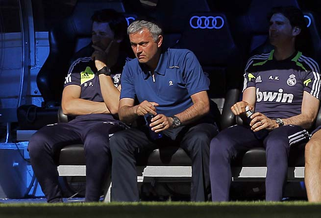 Jose Mourinho parted ways with Real Madrid after the La Liga season.