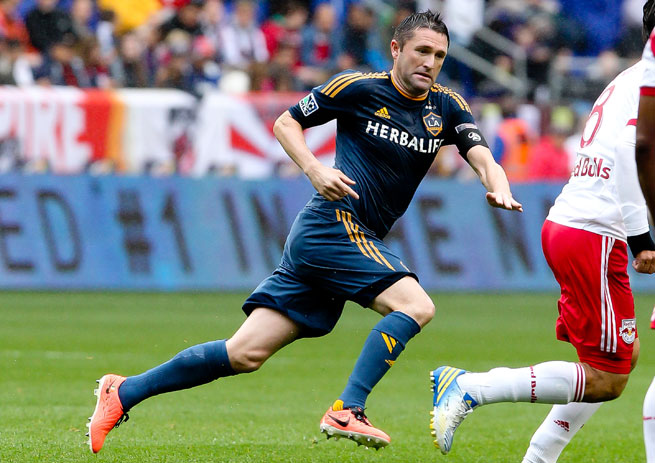 Robbie Keane and the Galaxy have been placed in a group with Isidro Metapan and Club Sport Catagines.