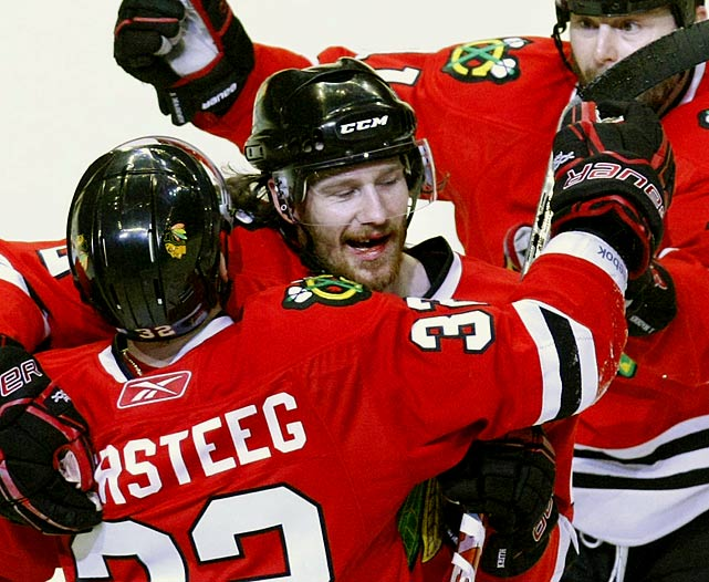 In the second period of Game 4 of the 2010 Western Conference Finals, the Blackhawks' defenseman took a puck to the mouth and spat out seven teeth. The Hawks' medical staff stopped the bleeding and removed tooth fragments before Keith returned to help his team complete its four-game sweep of San Jose. He and the Hawks ultimately went on to win the Stanley Cup Final.