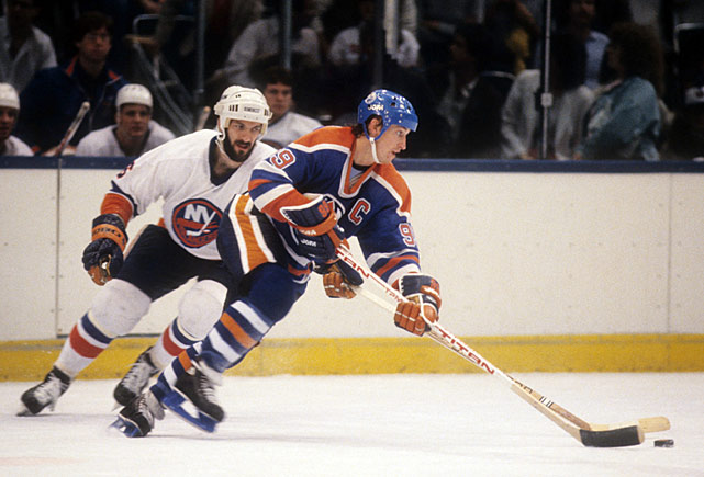 Wayne Gretzky once said that he learned what it took to win the Stanley Cup after seeing the battered, exhausted Islanders in their dressing room after they'd swept his Oilers in the 1983 final. One of those Islanders was defenseman Ken Morrow (one of the pioneers of the playoff beard), who routinely played on bad knees that had to be drained each day. Teammate Bobby Nystrom recalled how Morrow would sit with needles in his knees with fluid draining out. And then he'd take the ice against the likes of Gretzky and other greats, helping the Isles win four consecutive Cups.