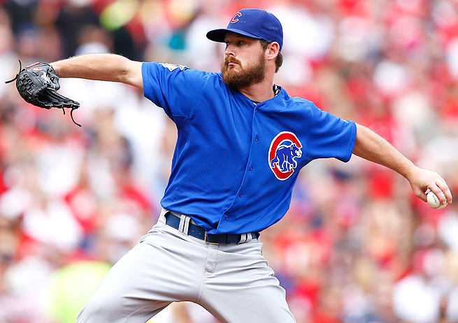 Travis Wood has a 2.75 ERA and a 1.01 WHIP, but his .218 BABIP is too low to be sustainable.