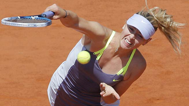 Maria Sharapova will cede her No. 2 ranking to Victoria Azarenka unless she defends her title.