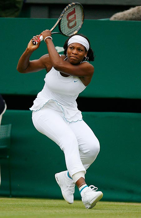 Serena made it to the quarterfinals of Wimbledon in 2007, where she lost to world No. 1 Justine Henin.