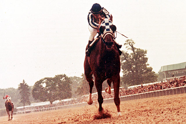 Prior to Secretariat, the previous Triple Crown winner was Citation in 1948.