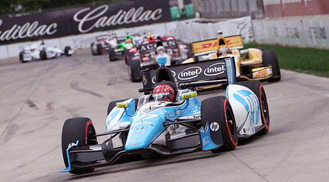 Drivers like Simon Pagenaud are taking advantage of the parity in the IndyCar Series this year.