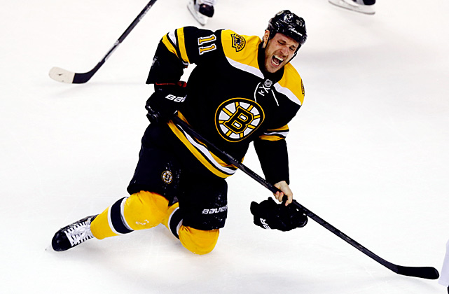 The NHL's regular season is a bruising grind, but the playoffs have been described as eight weeks of war, a holy crusade in which players willingly endure astounding amounts of punishment and pain for a chance to raise the sacred Stanley Cup. Boston's Gregory Campbell had his right leg broken by a slap shot in Game 3 of the 2013 Eastern Conference Finals, but managed to get back on his feet and stay on the ice for nearly a minute, skating on his good leg while trying to help his team kill off a Pittsburgh power play. Campbell was lost for the rest of the playoffs, but his sacrifice and effort inspired his teammates to win the game, and he earned a place in hockey lore.