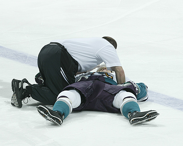"""The Ducks' diminutive winger was knocked flat by a hit from Scott Stevens, the Devils' notoriously punishing defenseman, during the second period of Game 6 of the 2003 Stanley Cup Final. After several minutes, Kariya got up and made his way to the dressing room. A short while later, he returned to the game, and while playing with what was likely a concussion, scored the winning goal to force Game 7, which the Ducks lost. Kariya's 15-year NHL career was ultimately ended by the effects of multiple concussions. """"With concussions, the guy walks into the dressing room the next day and they ask, 'how are you doing? Are you okay to go tomorrow?' he told the <italics>Globe and Mail </italics>after announcing his retirement<italics> </italics>in 2011."""