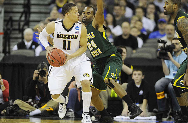 As a junior at Missouri, Michael Dixon averaged 13.5 points and 3.5 assists for the Tigers.