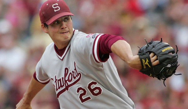 Mark Appel was taken No. 8 overall by Pittsburgh in 2012, but returned to Stanford for his senior year.