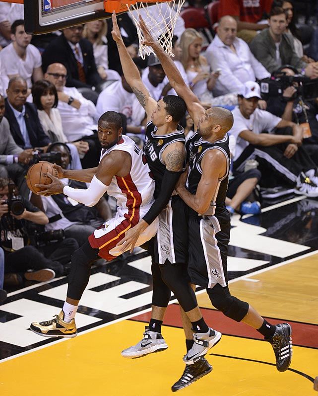 The Spurs played their typical stifling defense, holding an opponent under 90 points for the eighth time in these playoffs.