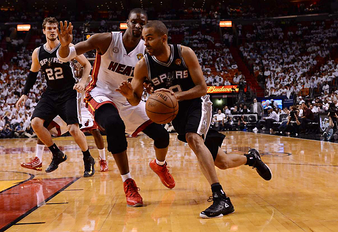 Tony Parker scored 21 points and handed out six assists top lead the Spurs to a 92-88 win in Game 1.