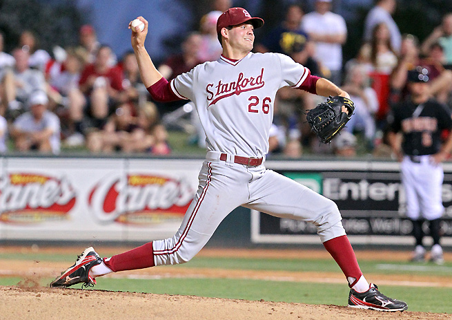 Mark Appel, No. 1 pick of the draft, had 372 career K's at Stanford, the most ever for a Cardinal pitcher.