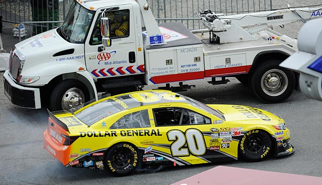 Matt Kenseth suffered an engine failure at Dover last weekend and finished 40th.