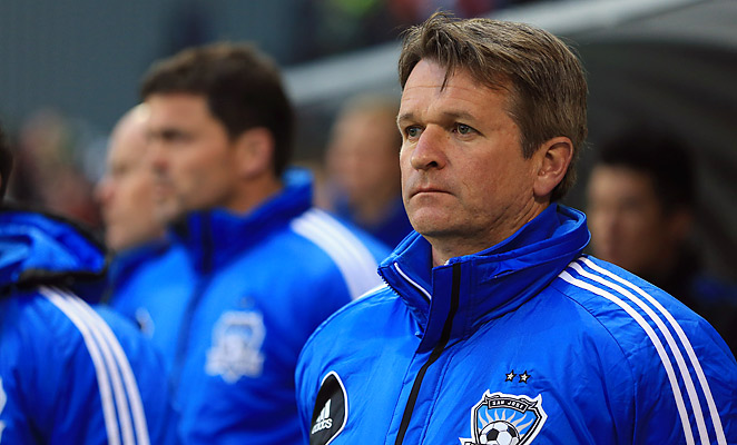 Frank Yallop leaves the Earthquakes after his second stint with the team after they rejoined the league in 2008.