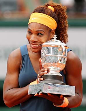Serena Williams won her second French Open 11 years to the day after her first.