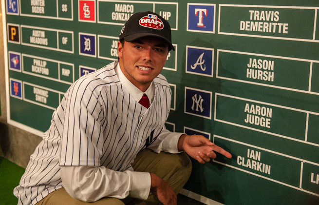 Ian Clarkin said the remarks were taken out of context and meant to tease his mother, a Yankees fan.