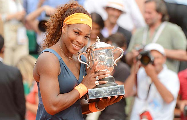 Serena Williams won her second French Open 11 years to the day after winning her first.