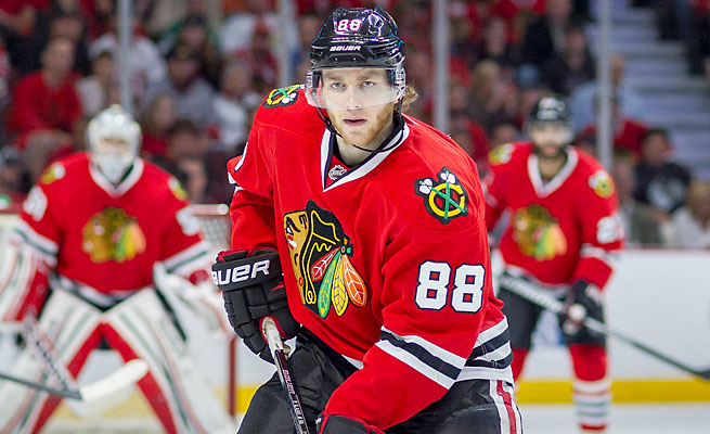 Patrick Kane and the Blackhawks beat the Bruins in six games for their second Stanley Cup in four years.