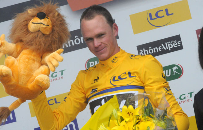 Chris Froome is the third straight British winner of the Criterium du Dauphine race.