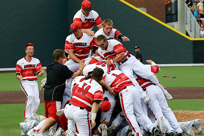 Pitcher Jeff Thompson gave up just one run for the Cardinals in their 2-1 win over No. 2 Vanderbilt.