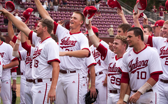 Indiana is the first Big Ten team to reach the College World Series since Michigan in 1984.