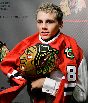 Patrick Kane was drafted first overall in 2007 ahead of notable first rounders James van Riemsdyk and Logan Couture